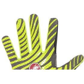 Castelli CW 6.0 Cross Gloves Men black/yellow fluo